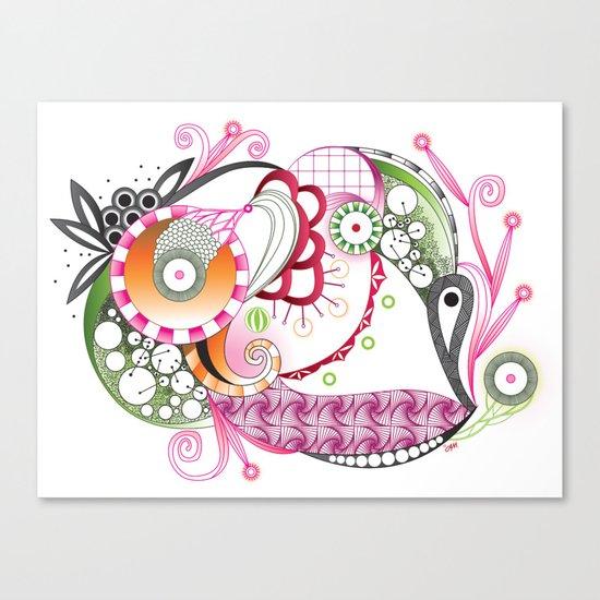 Autumn tangle Canvas Print