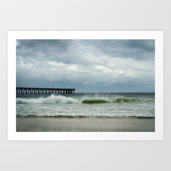 Ocean Spray Art Print