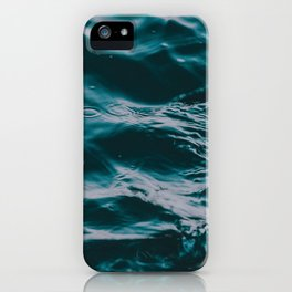water waves iPhone Case