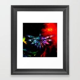 Zelda Space Framed Art Print