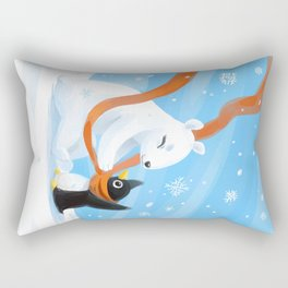 Uncle Bear Rectangular Pillow