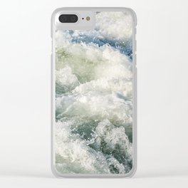Choppy Water Clear iPhone Case