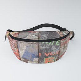Vintage Poster Collection 2 Fanny Pack