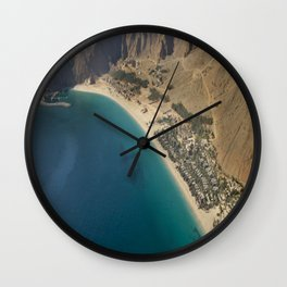 six senses hotel in zighy bay Oman Wall Clock