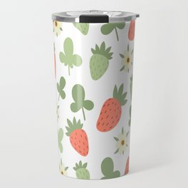 Stawberry Pattern Travel Mug