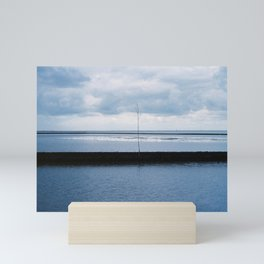 Amidst the Dark and Moody Sea Mini Art Print