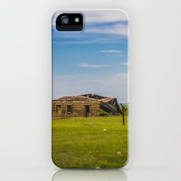 Sod Homestead, Mercer County, ND 1 iPhone Case