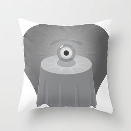 clairvoyant glance Throw Pillow