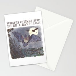 What Is It Like to Be a Bat? Stationery Cards