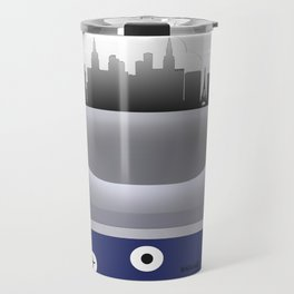 Las Vegas - LAS - Airport Code and Skyline Travel Mug