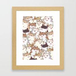 Hamster Paradise Framed Art Print