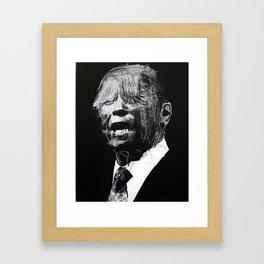 Big head 3. 2010. Framed Art Print