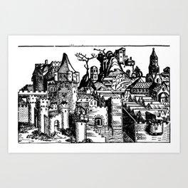 Folio 277 Verso Art Print