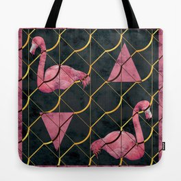 Luxurious Pink Flamingo Tote Bag