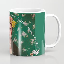 Wings to Fly Frida Kahlo Coffee Mug