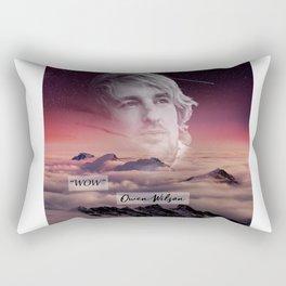 """""""WOW"""" Owen Wilson Rectangular Pillow"""