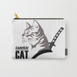 Samurai Cat Carry-All Pouch