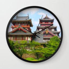 Castle Olden (Fushimi Momoyama) Wall Clock