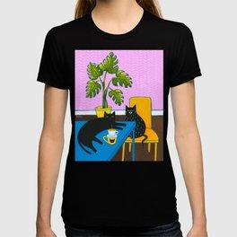 Drip Coffee Cats T-shirt