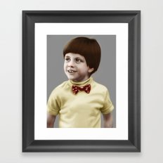 Problem Child Framed Art Print