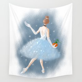 To the Ball Wall Tapestry