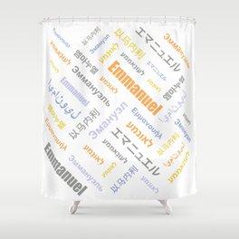 Emmanuel 4 Shower Curtain