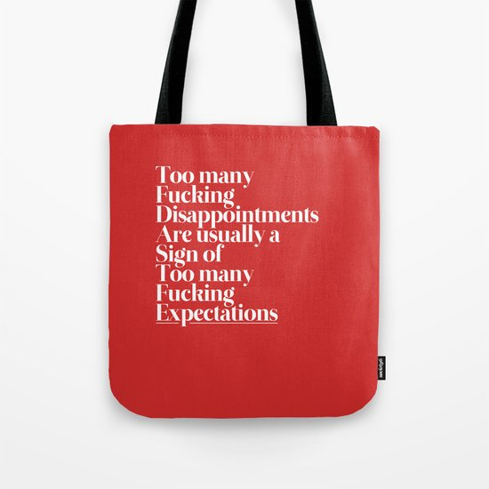 Disappointments Tote Bag