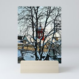 Red Tower Mini Art Print