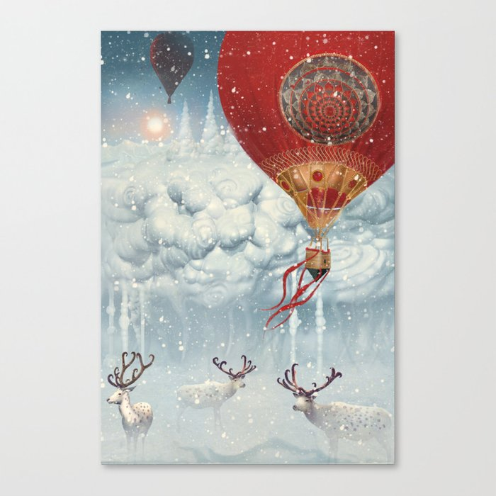 WinterFly Canvas Print