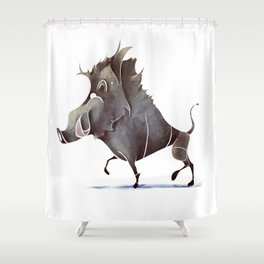 warthog Shower Curtain