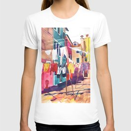 Laundry in Venice T-shirt