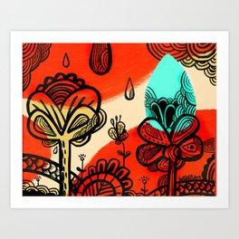 Spring Has Sprung! Art Print
