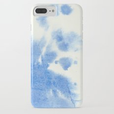 Blue watercolor iPhone 7 Plus Slim Case