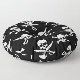 Pirateskulls Floor Pillow