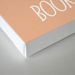 Books + Tea Canvas Print