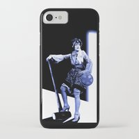 scott pilgrim iPhone & iPod Cases featuring Ramona Flowers - Scott Pilgrim by Danielle Tanimura