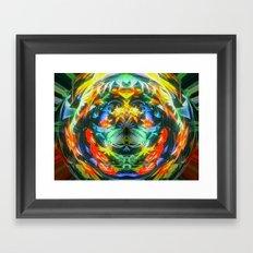 plantscape Framed Art Print
