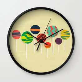 Sweet lollipop Wall Clock