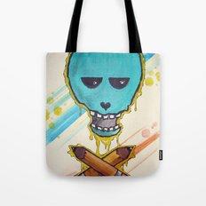 Art Skull Tote Bag