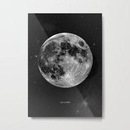 La Lune, Moon Metal Print
