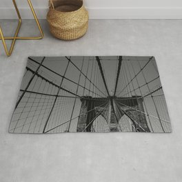 Spider web in New York Rug