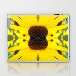 Trippy Sunflower Laptop & iPad Skin