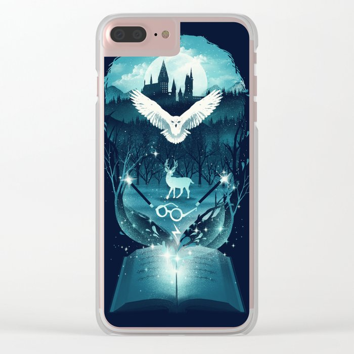 Book of Fantasy Clear iPhone Case