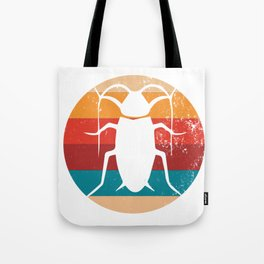 Vintage Insect Lover Retro Entomology Silhouette Gift Tote Bag