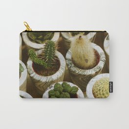 Potted Succulents (Color) Carry-All Pouch