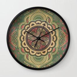 Floret_Flourish_PA_01a Wall Clock