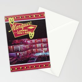 Marquee Motel in North Wildwood, New Jersey. 1960's Retro Motel Stationery Cards