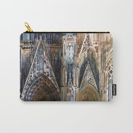 Koln cathedral's facade Carry-All Pouch