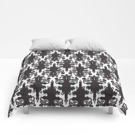 Pattern Wht Comforters