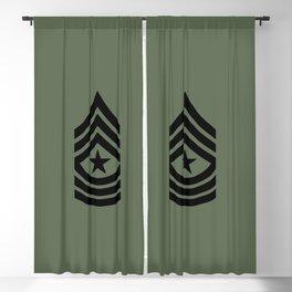 Sergeant Major (Green) Blackout Curtain